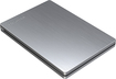 Toshiba - Canvio Slim 500GB External USB 3.0/2.0 Portable Hard Drive - Silver