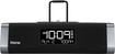iHome - Dual Charging Stereo FM Clock Radio - Black/Gunmetal