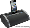 iHome - Portable Rechargeable Speaker for Select Apple® iPod®, iPhone® and iPad® Models - Black