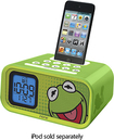 iHome - Disney Kermit Dual Alarm Clock Speaker System for Apple® iPod®
