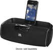 JBL - OnBeat aWake Speaker for Apple® iPod®, iPad® and iPhone® - Black