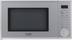Sharp - 1.1 Cu. Ft. Mid-Size Microwave - Silver
