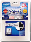 """Brother - 1/2"""" Clear Tape for Select P-Touch Electronic Labelers"""