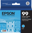 Epson - 99 Cyan Claria Single Ink Cartridge - T099220