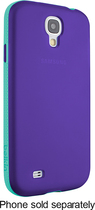 Belkin - Grip Candy Case for Samsung Galaxy S 4 Cell Phones - Purple/Jade