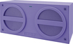 iHome - Mini Bluetooth Rechargeable Stereo Speaker for Most Bluetooth-Enabled Devices - Purple