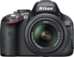 Nikon - D5100 DSLR Camera Body with 18–55mm VR Lens - Black