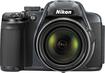Nikon - Coolpix P520 18.1-Megapixel Digital Camera - Silver