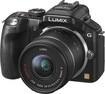 Panasonic - LUMIX G5 16.1-Megapixel Digital Compact System Camera with 14-42mm Lens - Black
