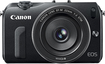 Canon - EOS M Compact System Camera with 22mm STM Lens - Black