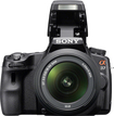 Sony - SLTA37K 16.1-Megapixel DSLR Camera with 18-55mm Lens - Black