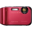 Sony - Cyber-shot 16.1 Megapixel Compact Camera - Red