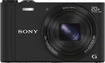 Sony - DSC-WX300 18.2-Megapixel Digital Camera - Black