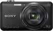 Sony - Cyber-shot DSC-WX80 16.2-Megapixel Digital Camera - Black