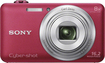 Sony - Cyber-shot DSC-WX80 16.2-Megapixel Digital Camera - Red