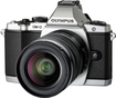 Olympus - OM-D E-M5 Mirrorless Camera with 12-50mm Lens - Silver