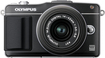 Olympus - PEN E-PM2 Compact System Camera with 14-42mm Lens - Black - Black