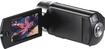 Samsung - QF30 HD Flash Memory Camcorder - Black