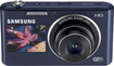 Samsung - DualView 16.2-Megapixel Digital Camera - Cobalt Black