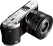 Samsung - NX300 Compact System Camera with 20-50mm Lens - Black