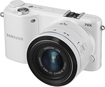 Samsung - NX2000 Compact System Camera with 20-50mm Lens - White