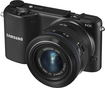Samsung - NX2000 Compact System Camera with 20-50mm Lens - Black