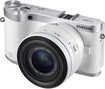 Samsung - NX300 Compact System Camera with 20-50mm Lens - White