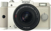 PENTAX - Q 12.4-Megapixel Digital Compact System Camera with Zoom Lens - White