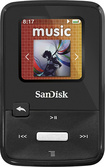 SanDisk - Clip Zip MP3 Player with 8GB* Internal Solid State Memory - Black