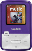 SanDisk - Sansa Clip Zip 4GB* MP3 Player - Purple