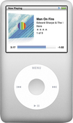 Apple® - iPod classic® 160GB* MP3 Player - Silver
