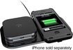 Duracell - Powermat 24-Hour Power System for Apple® iPhone® 4 and 4S - Black - Black