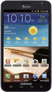 Samsung - Galaxy Note 4G Cell Phone - Carbon Blue