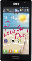 MetroPCS - LG Optimus L9 4G No-Contract Cell Phone - Black