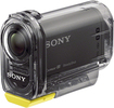 Sony - Action Cam HDRAS10/B HD Flash Memory Camcorder - Black - Black