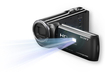 Sony - HDR-PJ380 16GB HD Flash Memory Camcorder - Black