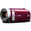 "JVC - Everio Digital Camcorder - 3"" - Touchscreen LCD - CMOS - Full HD - Red"