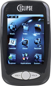 Mach Speed - T2810C 4GB 2.8 inches Flash Portable Media Player - Black