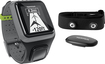 TomTom - Runner GPS Watch with Heart Rate Monitor - Dark Gray