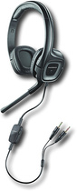 Plantronics - .Audio 355 Stereo Headset - Black