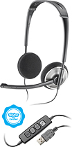Plantronics - .Audio 478 Headset - Black