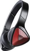 Monster - DNA On-Ear Headphones - Black/Red