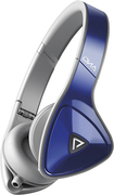 Monster - DNA On-Ear Headphones - Cobalt Blue/Light Gray - Cobalt Blue/Light Gray