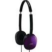 JVC - JVC HAS160V Flats Lightweight Headband Headphones (Violet) - Violet
