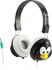 Griffin Technology - KaZoo MyPhones Penguin Over-the-Ear Headphones - Black