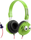 Griffin Technology - KaZoo MyPhones Frog Over-the-Ear Headphones - Black