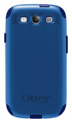 OtterBox - Commuter Series Case for Samsung Galaxy S III Cell Phones - Ocean Blue/Night Blue