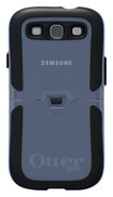 OtterBox - Reflex Series Case for Samsung Galaxy S III Cell Phones - Clear/Black - Clear/Black