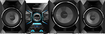 Sony - 1600W 3-Way Mini Speaker System with Digital AM/FM Tuner - Silver/Black