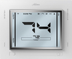 Hunter - 7-Day Programmable Thermostat - White